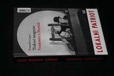 Tiskoví magnáti Voskovec a Werich -  František Cinger  (a6)