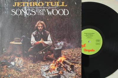 Jethro Tull – Songs From The Wood LP 1977 vinyl Germany 1.press VG++