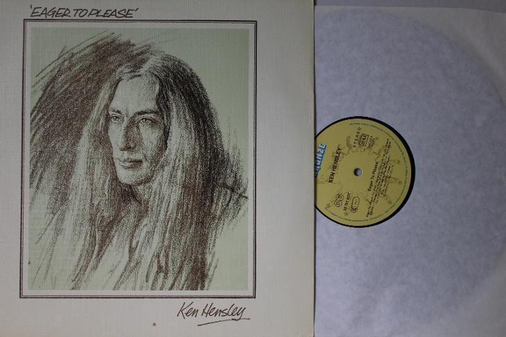Ken Hensley – Eager To Please LP 1975 vinyl jako nove Uriah Heep - Hudba