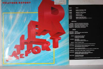 Weather Report Same LP 1982 vinyl jako nove NM Jazz Rock Fusion