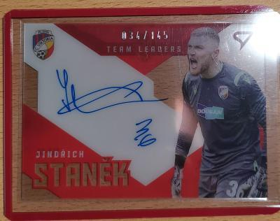 Sportzoo Fortuna Liga 20/21 2. Serie Podpis TL Jindřich Staněk 034/145