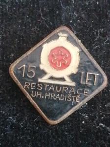 HOTEL/RESTAURACE - RESTAURACE UHERSKÉ HRADIŠTĚ 15LET