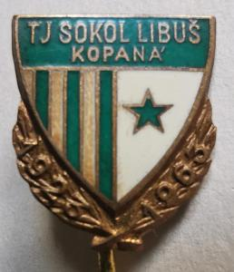 Odznak T. J. Sokol Libuš 1923-1963