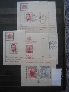 Gigantická sbírka aršíků Československa