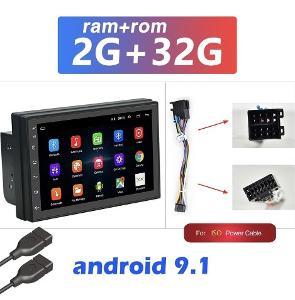 "NOVÉ 7"" Univerzální ANDROID autorádio - GPS, ISO konektor - 2/16GB"