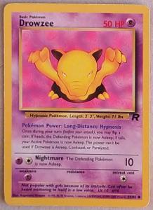 Karetní hra Pokemon Basic Pokémon Drowzee