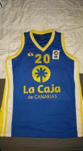 Originální hraný basketbalový dres klubu Gran Canaria - Leticia Romero