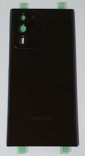 Zadní kryt baterie Samsung Galaxy Note 20 Ultra Black včetně sklíčka k