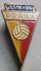 Odznak Taxi Praha