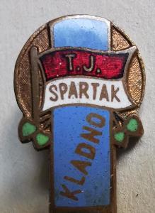 Odznak T. K. Spartak Kladno