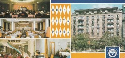 Jalta - Interhotel - Praha 1 - Václavské náměstí - 21 x 10,5 cm