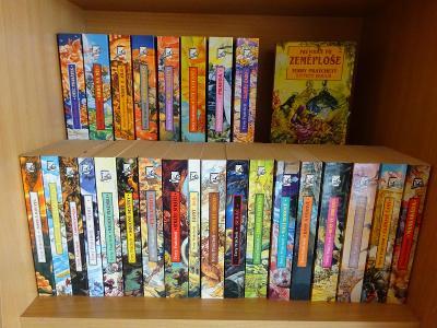 Terry Pratchett - Úžasná Zeměplocha - kolekce 1-26 + bonus