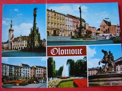 OLOMOUC Městská památková rezervace Retro