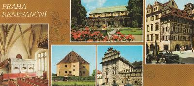 Praha renesanční - 22 x 10,5 cm