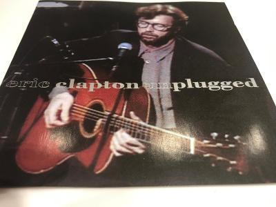 Eric Clapton: Unplugged 1992, 1.press, Jewel Case, Velmi dobrý stav !!