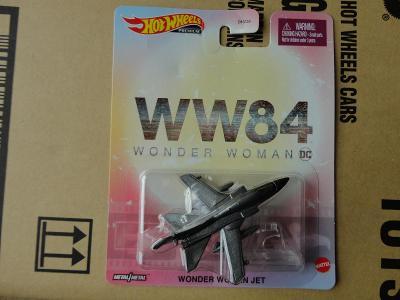 Hot Wheels Wonder Woman Jet.