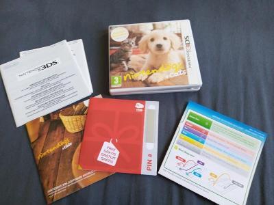 Nintendo 3DS HRA Ninten doga + cats