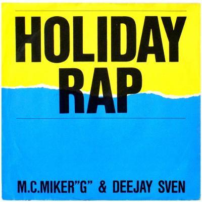 "Gramofonová deska M.C. MIKER ""G"" & DEEJAY SVEN - Holiday rap"