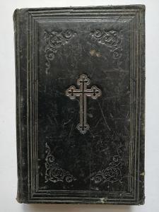 1864 - knížka Lurdy + 1864 Radostná Maria Cellenská - 2 kbihy vazba !!