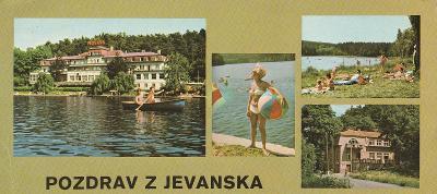 Jevany - ROH Moskva - Vyžlovka - restaurace Propast - 22 x 10,5 cm