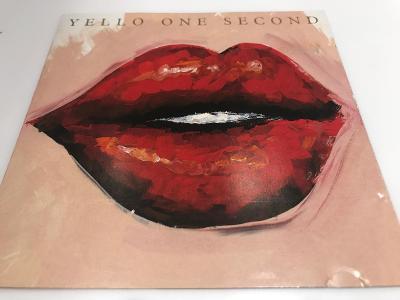 Yellow: One Second 1987, 1.press, Jewel case, Velmi dobrý stav !!!