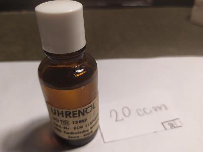 Hodinářský olej