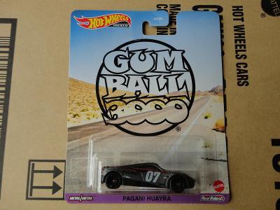 Hot Wheels Pagani Huayra.Rozbalený.Krabička je otevřena.