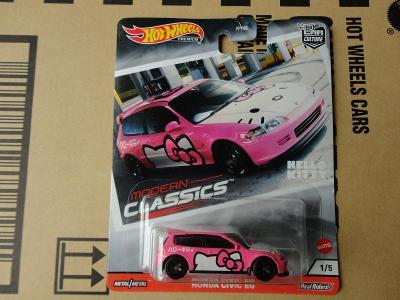 Hot Wheels Honda Civic EG.Rozbalený.Krabička je otevřena.