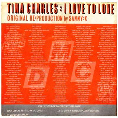 Gramofonová deska TINA CHARLES - I love to love