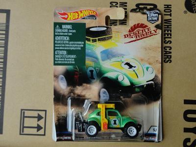 Hot Wheels Volkswagen Baja Bug.Rozbalený.Krabička je otevřena.