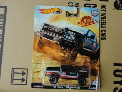Hot Wheels 17 Ford F-150 Raptor.Rozbalený.Krabička je otevřena.