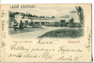 Lázně Kynžvart, Cheb