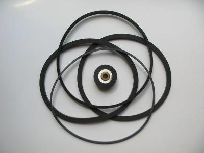 Sada řemínků pro kotoučový magnetofon Tesla řady B5, B100