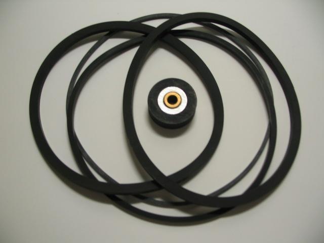 Sada řemínků pro kotoučový magnetofon Tesla řady B5, B100 - TV, audio, video