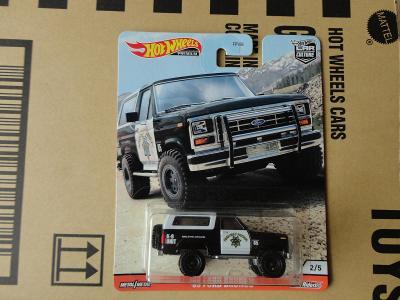 Hot Wheels 85 Ford Bronco.Rozbalený.Krabička je otevřena.