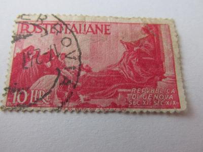 Známky Itálie 1946,  Advent Itálie-Fresky