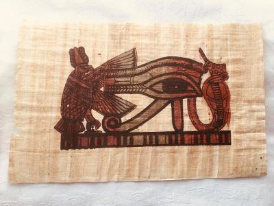 Papyrus. Oko 31,5x21 cm
