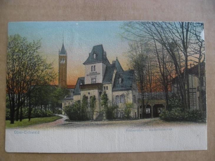 Teplice Dubí Eichwald DA restaurace - Pohlednice