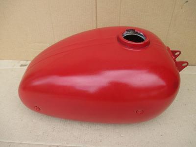 Motocykl Jawa čz kývačka panelka nádrž palivová na rám 250 350 velká
