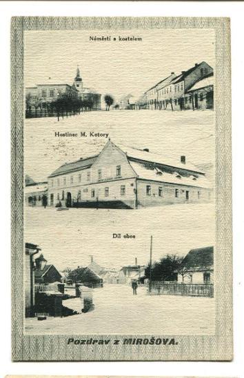 Mirošov, Rokycany - Pohlednice
