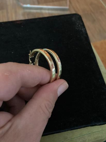 Zlaté náušnice-kroužky 2 - Šperky