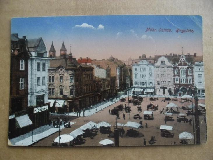 Moravská Ostrava  - Pohlednice