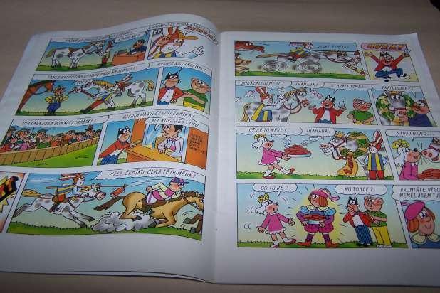 ČTYŘLÍSTEK  JE DOBŘE MÍT KONÍČKA   č.276  r.1998 /Ř21/ - Komiksy