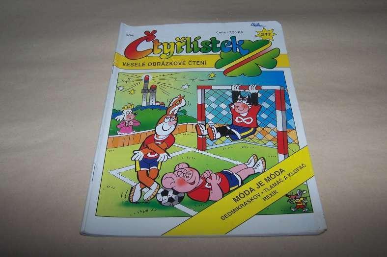 ČTYŘLÍSTEK  MODA JE MODA   č.247 r.1996 /Ř21/ - Komiksy