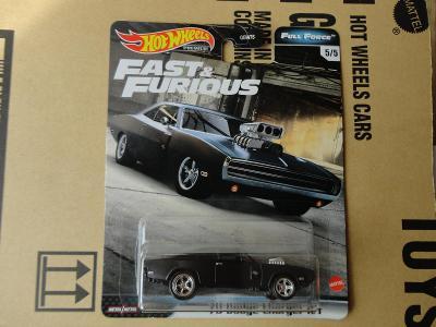 Hot Wheels 70 Dodge Charger R/T.Rozbalený.Krabička je otevřena.