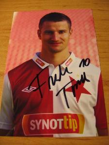 Tomáš Frejlach - Slavia Praha - orig. autogram