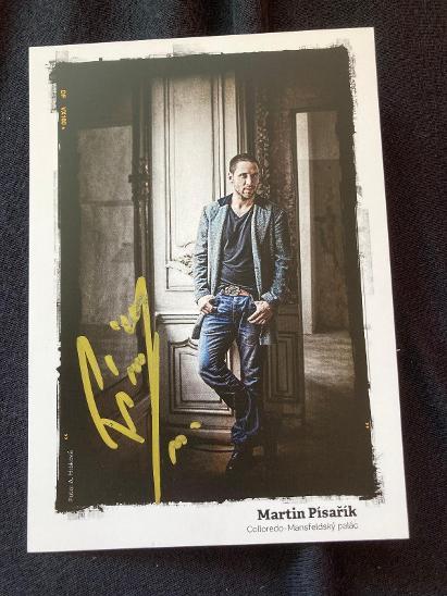 Martin Písařík autogram - Ostatní