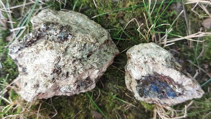 Heřmanovska koule( apofylit) - Minerály a zkameněliny