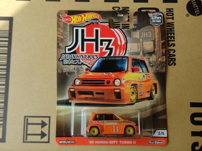 Hot Wheels 85 Honda Citi Turbo II.Rozbalený.Krabička je otevřena.