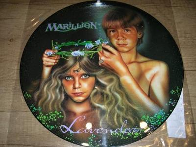 Marillion – Lavender (1985) MAXI 1.Press UK ,PICTURE DISC